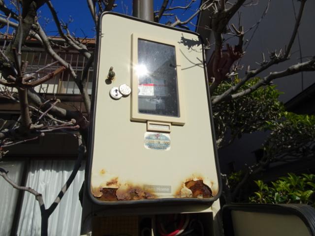 スッキリポールのメーターボックス