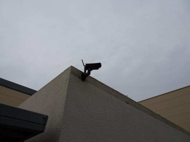 ゴミステーション用監視カメラ