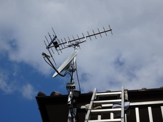 ケーブルテレビからアンテナへ変更