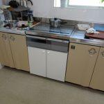 流し台の据え置きガス台をシステムキッチン用IHに交換 香川県丸亀市
