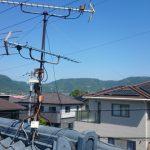 地デジの受信不良でアンテナの交換修理です。 香川県高松市