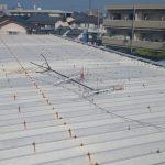 アパート屋上の地デジアンテナ修理
