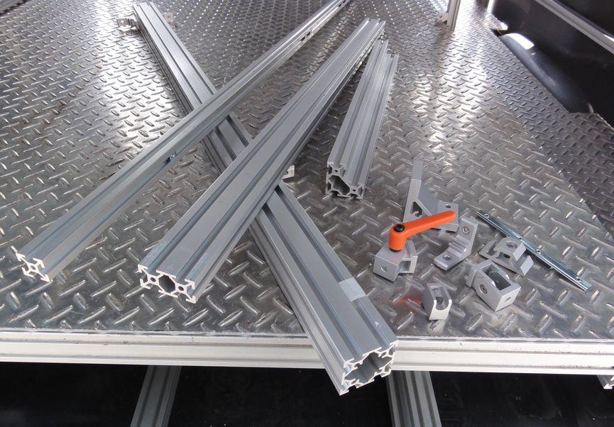 荷台制作用のフレーム材料