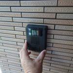 ホームセキュリティドアホンへ取替工事 香川県高松市にて