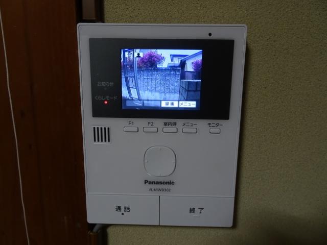 玄関子機の映像チェック
