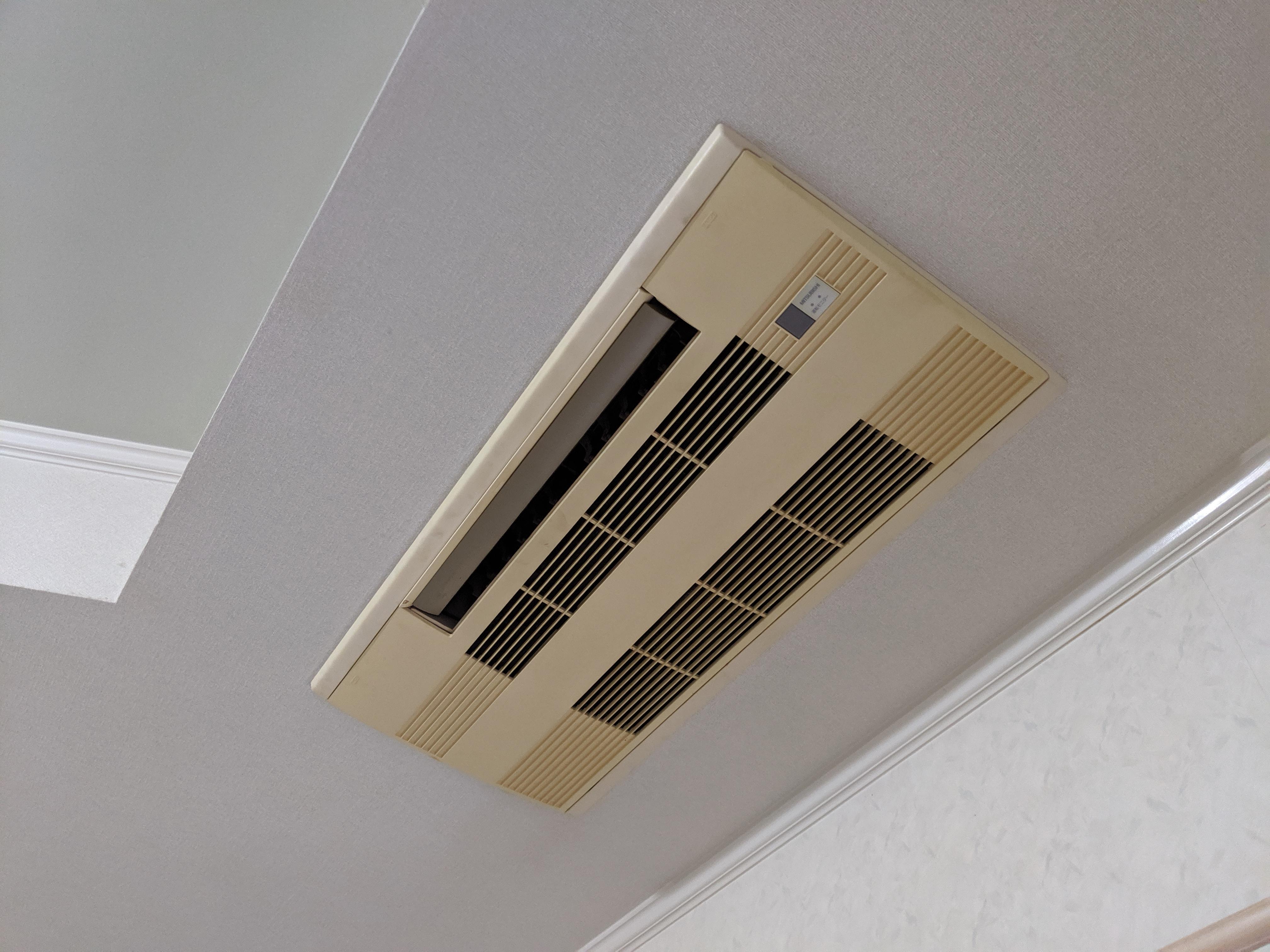 ハウジングエアコン 天井カセット室内機 既設
