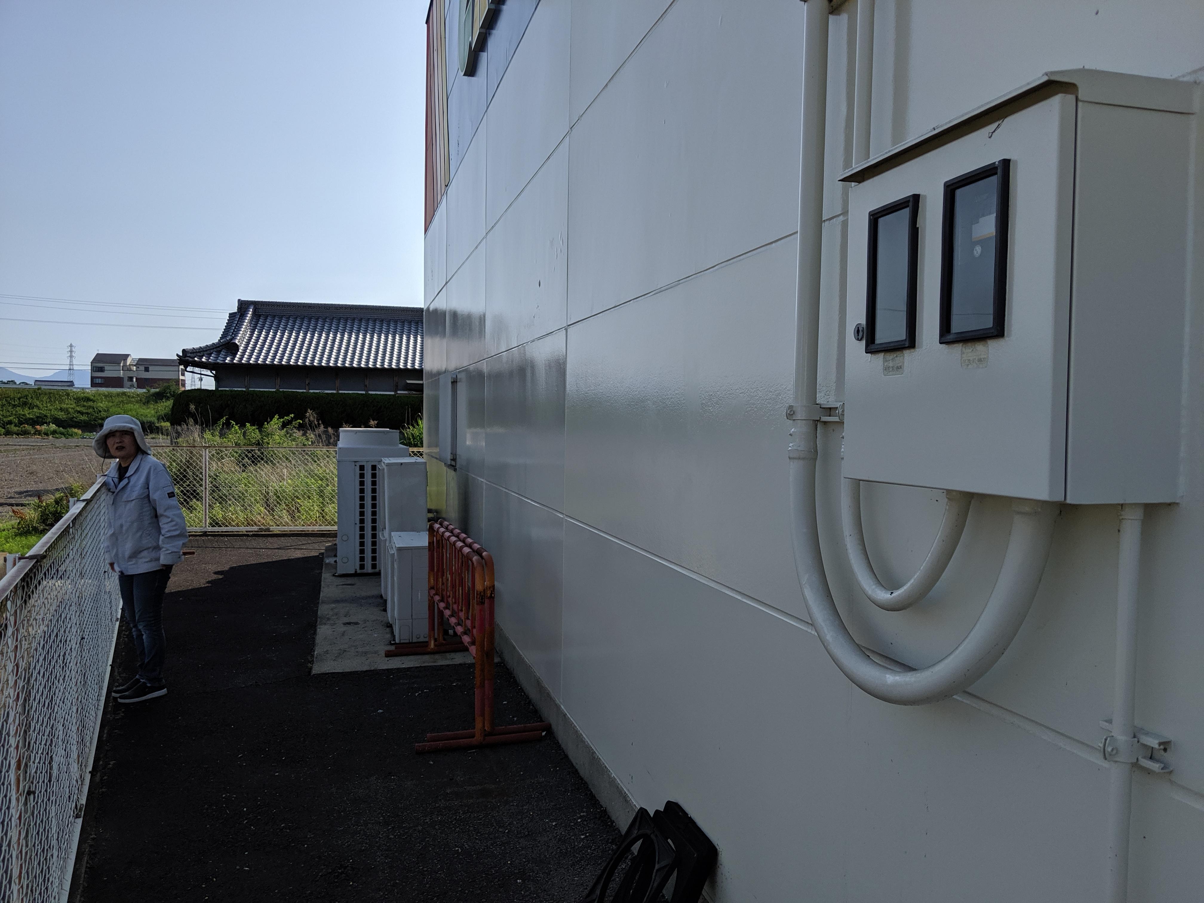 テナント業務用エアコン室外機